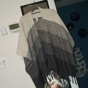 NWT blanket sweater